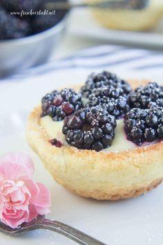 Frisch Verliebt: Brombeeren Pudding Törtchen