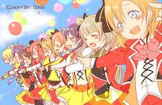 Love live μ's sunny day song