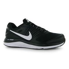 online store 3d60a 8c6c9 Nike Dual Fusion x Mens Black 001 Lace Up Athletic Running Trainer Shoes    eBay Sports