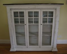 Cozy.Cottage.Cute.: Window Pane Cabinet For the Dining Room