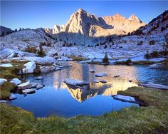 Mount Wallace and Sailor Lake, Eastern Sierra, CA