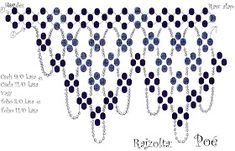 Best Seed Bead Jewelry 2017 Poé gyöngyei: schema for RAW-ish necklace Seed Bead Tutorials Page 2 of Use: Czech seed beads and OR Toho seed beads andprinted picture of it Diy Necklace Patterns, Beaded Jewelry Patterns, Beading Patterns Free, Beading Tutorials, Seed Bead Jewelry, Seed Beads, Beading Techniques, Beaded Collar, Beaded Ornaments