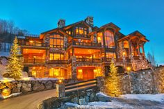 Ultimate Deer Valley Ski Home – $13,900,000 . . . House Size: 12,869 Sq. Ft.; Lot Size: 0.79 Acres; Bedrooms: 9; Bathrooms: 10 Full, 2 Partial; Specialty Items: Built in 2002, Designed by Otto/Walker Architects, Built by Craig Construction, Gated Community, Directed on the Jordanelle Run at the Deer Valley Resort, Ski In/Ski Out, Views.; Address: 10663 N Summit Drive, Heber City, Utah, United States, 84032