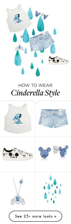 """""""Disneyland"""" by seagull-114 on Polyvore featuring rag & bone/JEAN, Disney and MOA Master of Arts"""