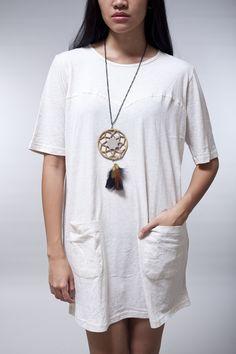 LocalBrand.co.id | Flower Button Dress by Kleio