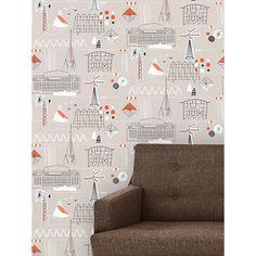 Buy Mini Moderns Festival Wallpaper Online at johnlewis.com