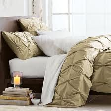 pintuck comforter in seagrass