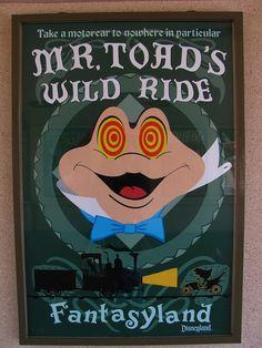Disneyland's Mr. Toad's Wild Ride Being Made Into a Film  photo by Loren Javier