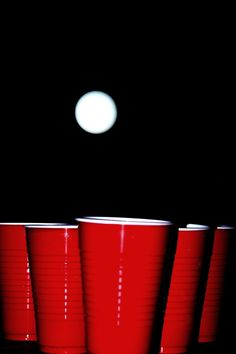 Beer pong!
