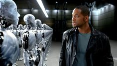 Directed by Alex Proyas. With Will Smith, Bridget Moynahan, Bruce Greenwood, Alan Tudyk. In a technophobic cop investigates a crime that may have been perpetrated by a robot, which leads to a larger threat to humanity. Leonardo Dicaprio, Funny Videos, Will Smith, Science Fiction, Alex Proyas, The Stranger Movie, I Robot, Smart Girls, Retro