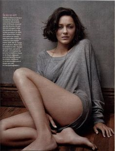 Marion Cotillard in Long Sleev... is listed (or ranked) 3 on the list Hottest Marion Cotillard Photos