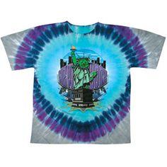 Grateful Dead New York Bears Tie Dye T-shirt