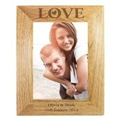 Love Design Wooden Photo Frame
