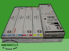 Canon GPR 13 Lot Black Cyan Magenta Yellow Plus Extra Cyan New in Box | eBay