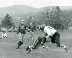 Football game, circa 1949
