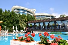 Hotelpool im Liberty Hotel Lara, Antalya Antalya, Beautiful Hotels, Most Beautiful, Holiday Fun, Liberty, Holidays, Mansions, House Styles, Beach