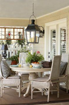 Cottage decor: Porch | Jeff Chapman and Stan DuBois via At Home Arkansas