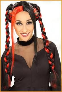 DIY Halloween Hair: DIY Halloween Hairstyles : Creative Halloween Hairstyle with Animal Crown for Women Mohawk Hairstyles For Women, Hairstyles Haircuts, Cool Hairstyles, Beauty Salon Near Me, Hair And Beauty Salon, Crown For Women, Cute Haircuts, Beauty Awards, Hair Dos