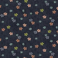 The Henley Studio - Asami - Small Flower in Charcoal