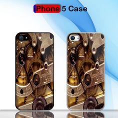 Steampunk Custom iPhone 5 Case Cover