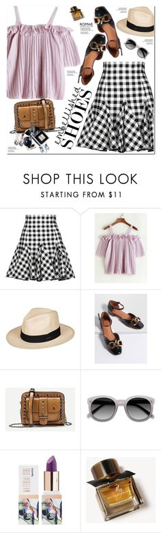 """Romwe"" by oshint ❤ liked on Polyvore featuring Dolce&Gabbana, Roxy, Ace, Teeez and Burberry"