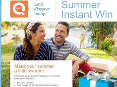 QVC Summer Instant Win Game