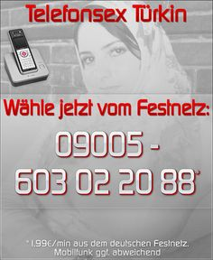 Telefonsex Türkin