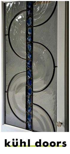 Stained Glass Cabinet Doors - Unique Designs to enhance any kitchen - Custom Made, Variety of Options - Hand Crafted using only Hand Blown Glass Stained Glass Cabinets, Glass Kitchen Cabinets, Living Room Cabinets, Glass Cabinet Doors, Bathroom Cabinets, Types Of Cabinets, Leaded Glass, Hand Blown Glass, Modern Design
