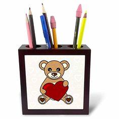 Janna Salak Designs Teddy Bears - Valentines Day Cute Bro…