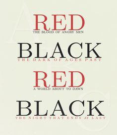 Les Miserables- ABC Café: Red and Black