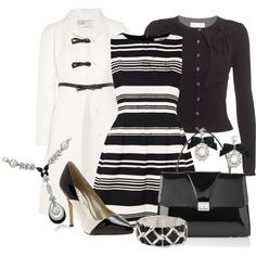 """Show Me Your Stripes"" by stylesbyjoey on Polyvore"