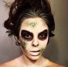 Halloween makeup Beetlejuice diy