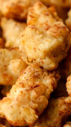 Copycat Chik Fil A Nuggets Recipe ~ Seriously, these are the BEST Chicken nuggets!