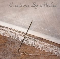 Creations By Michie` Blog: Bridging or Faggoting Tips