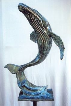 No More Harpoons Whale, My Arts, Sculpture, Animals, Animales, Animaux, Whales, Sculpting, Animal