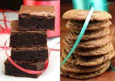 BEST EVER BROWNIES and Brown Sugar Mint Chocolate Chip Cookies. Plus, Holiday Cookie Baking! I've got 5 unique cookie recipes, the best brownies ever, and two unique macaron recipes for your holiday cookie baking!