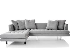 Aluminium Gray Dania Sofa - Natural | Pinterest
