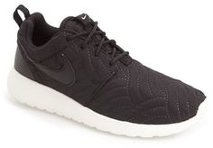 Nike 'Roshe Run' Print Sneaker (Women) to get shoes like this and many more cute ones go to www.shopstyle.com for AMAZING deals