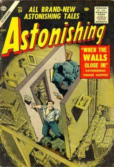 Cover for Astonishing (Marvel, 1951 series) #54