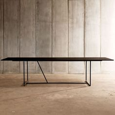 Heerenhuis Mesa Nero Blackend Oak Dining Table   heerenhius_mesa_nero_oak   £2,050.00