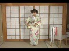 ▶ How To Dress Yukata & Kimono Part1 by ICHIROYA.COM - YouTube