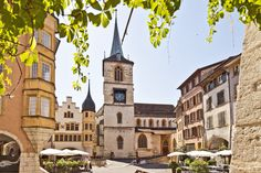 Biel/Bienne - the city I grew up in and spent the first twenty years of my life Switzerland Tourism, Places In Switzerland, Bern, Places To Travel, Places To Visit, Three Lakes, Hotels, Beaux Villages, Belle Villa
