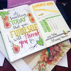 Something colourful to keep my fitness in track for the summer! : bulletjournal