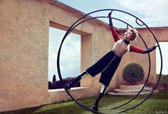 Michael Fassbender & Natalia Vodianova by Craig Mc Dean and Grace Coddington! / Vogue – May 2012