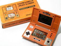 Nintendo Game & Watch Donkey Kong DK-52 Boxed MIJ Great Condition Free Shipping #Nintendo