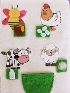 Cicideko: Çocuk Etkinlik Kitabı (Quiet Book) Cicideko'da Satışta Montessori Activities, Book Activities, Fabric Crafts, Diy Crafts, Baby Applique, Felt Quiet Books, Animal Books, Busy Book, Kids Church
