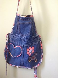 A personal favorite from my Etsy shop https://www.etsy.com/listing/516695826/denim-apron