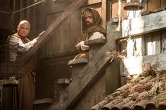 Conleth Hill as Varys and Peter Dinklage as Tyrion Lannister in #GoTSeason5.