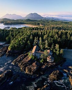 Wickaninnish Inn + Tofino, Canada... my favorite place in the entire world. My parents surprised me with a room here for my 17th birthday! Needless to say, best surprise in the world. I plan on getting married here!