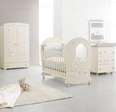 Kinderzimmer-Inspiration mit Erbesi Serie Nuvola in ivory